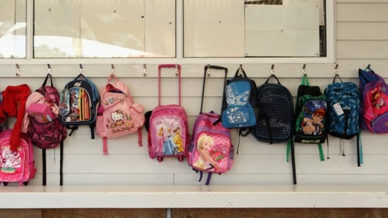 Florida school selling bulletproof backpack inserts for active shooter situations
