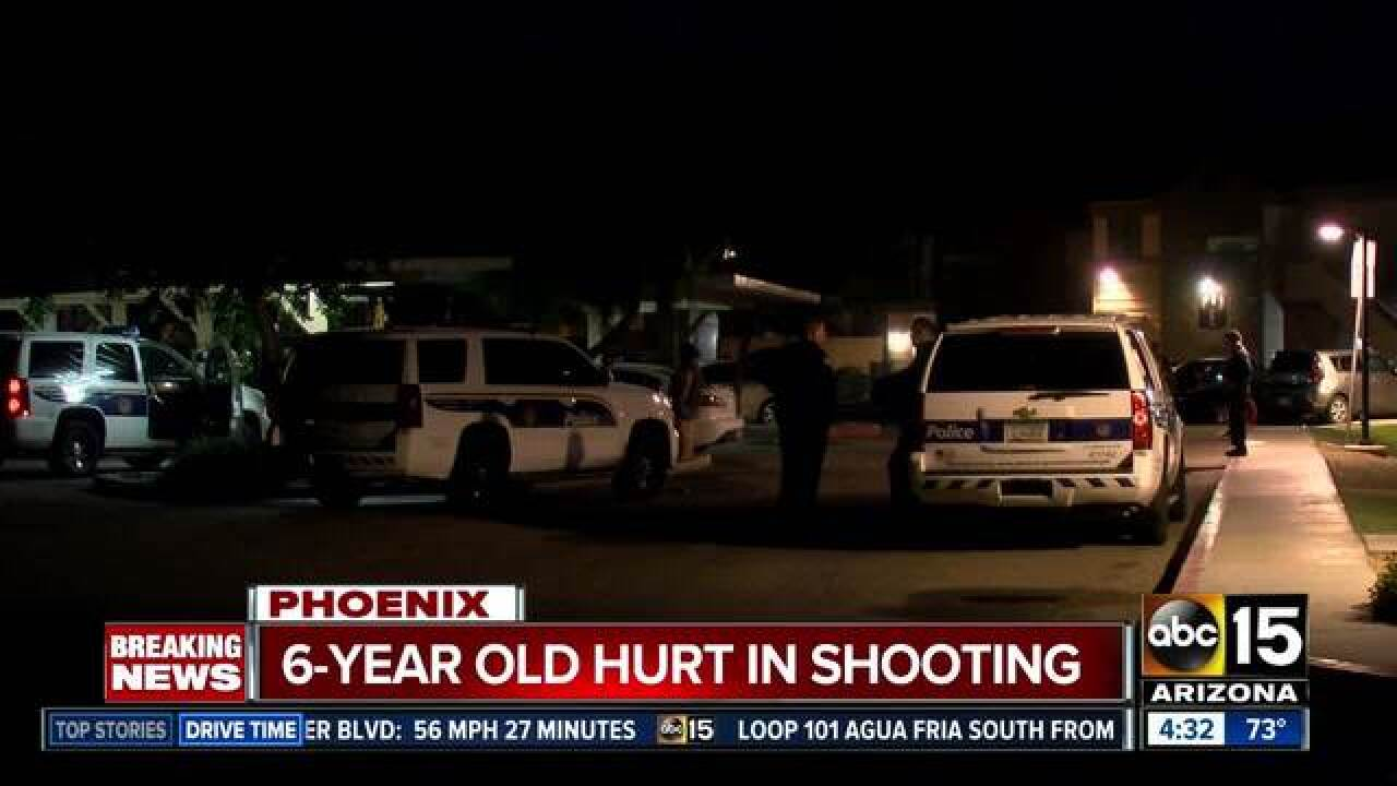 PD: Child hurt in apparent road-rage shooting