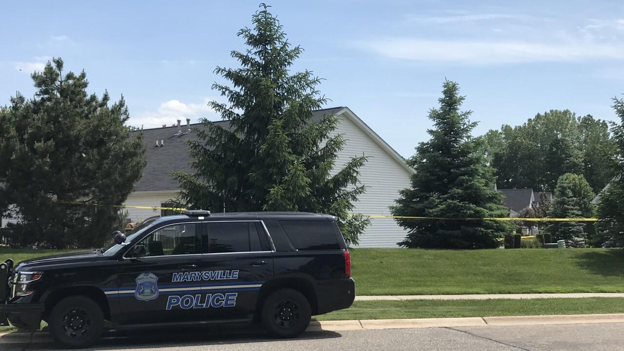 Marysville death investigation