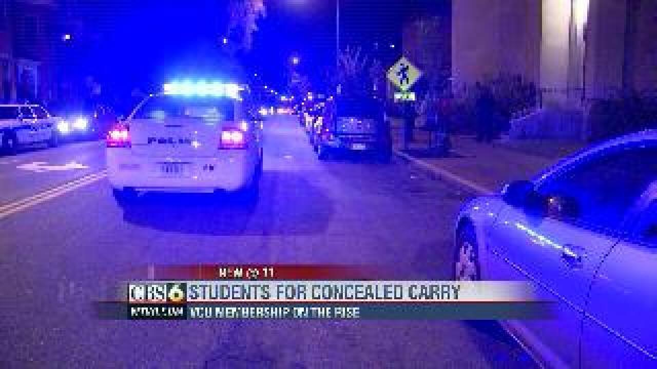 Students debate carrying concealed weapons in wake of recent robberies at VCU