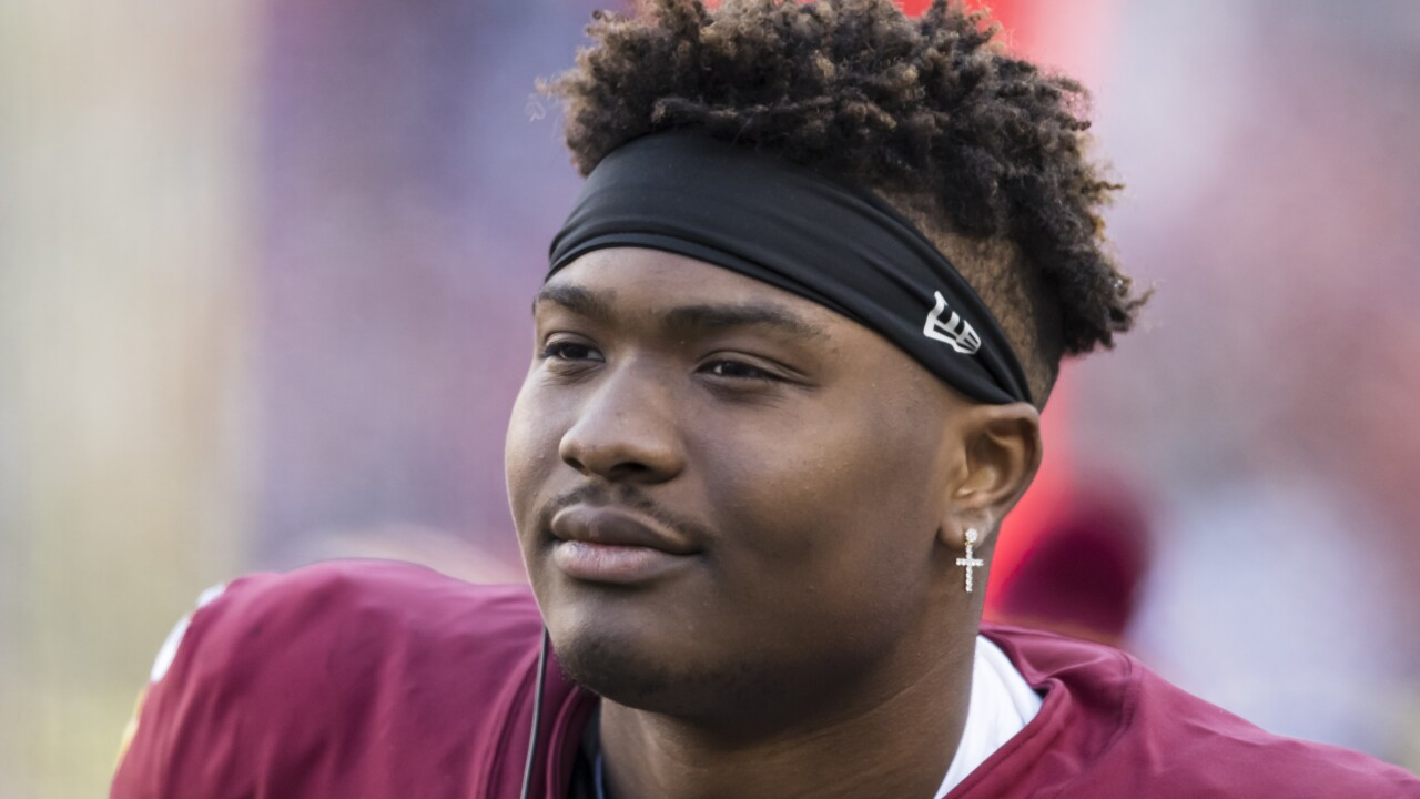 Redskins quarterback Dwayne Haskins suffers ankle injury, ruled out for season finale in Dallas