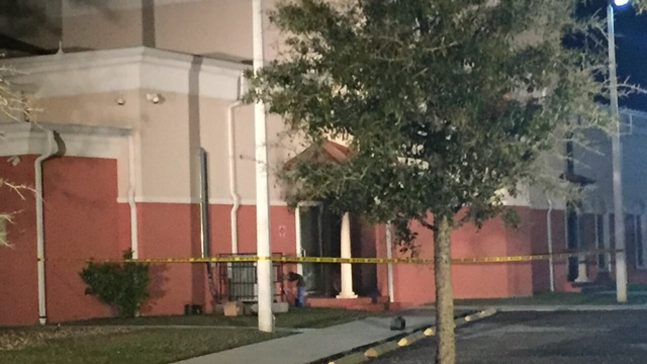 Officials investigating fire outside of mosque