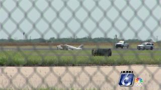 CCIA runway shut down after small plane's rough landing
