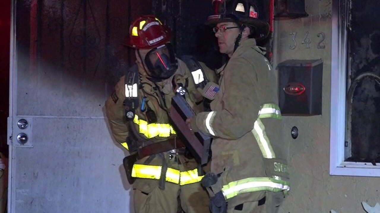 Space heater ignites Lomita house fire