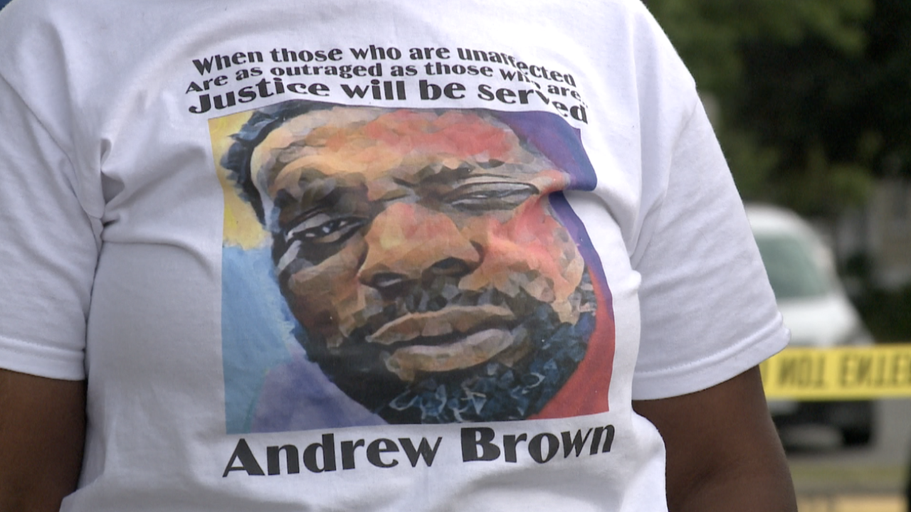Andrew Brown Jr. Rally