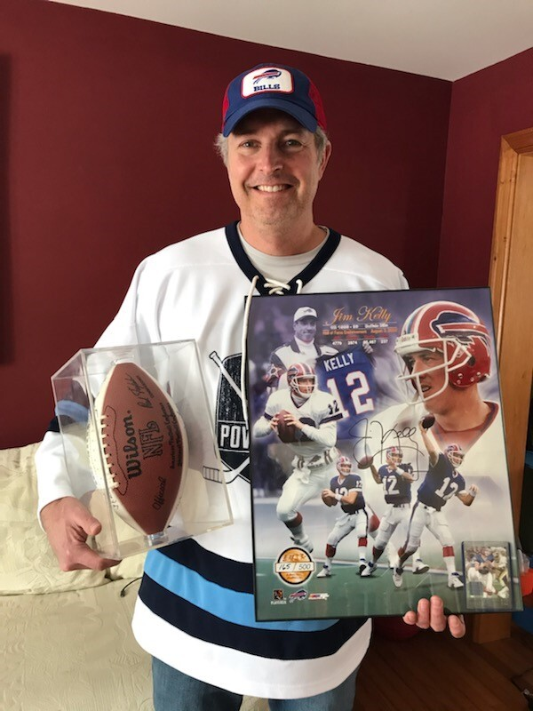 Bills memorabilia up for grabs in benefit meat raffle