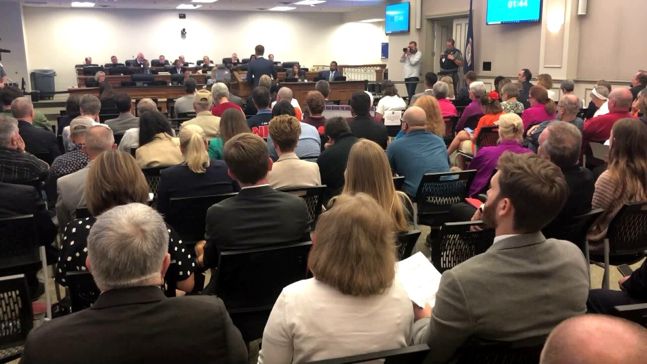 State Crime Commission listens to gun control advocates, opponents