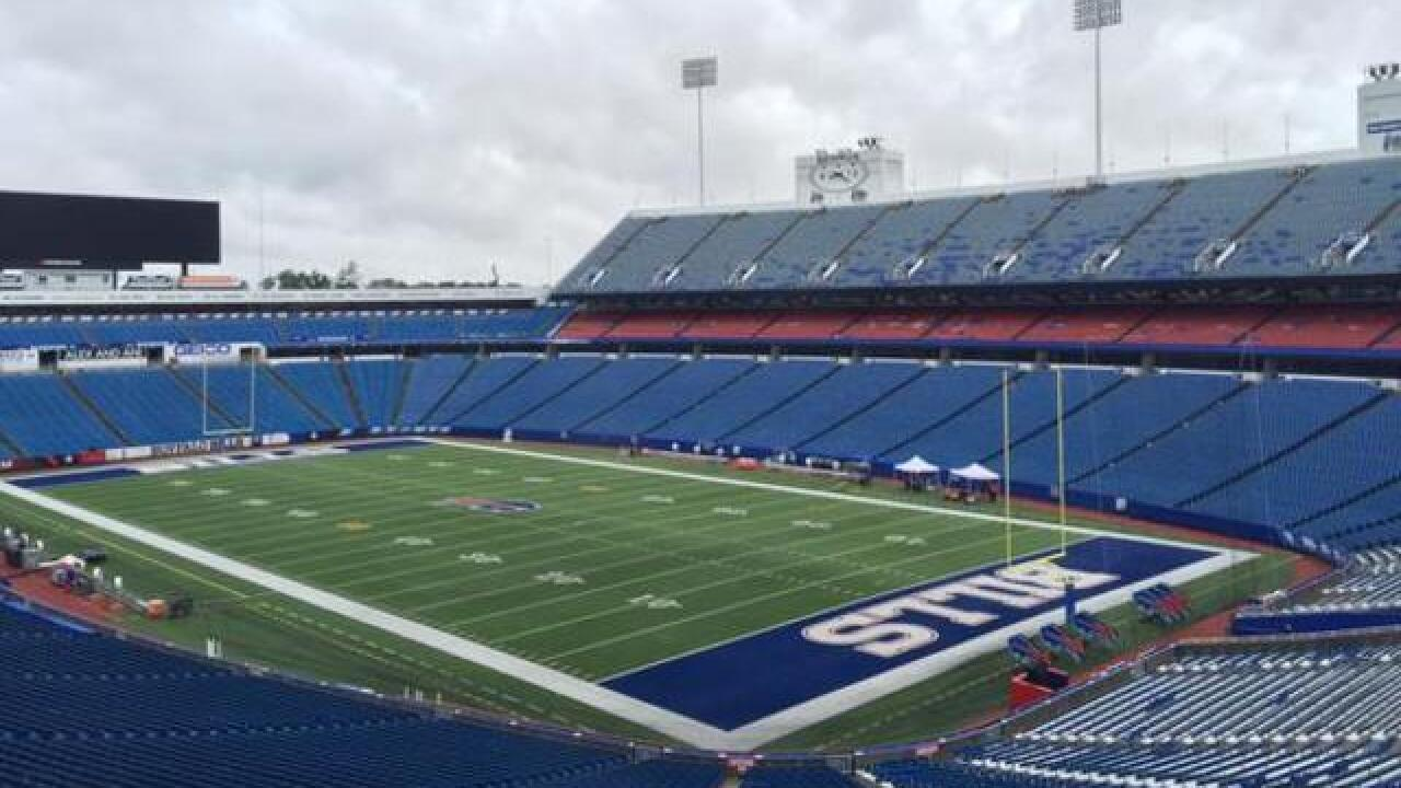 The Buffalo Bills to play home games at 'Bills Stadium'