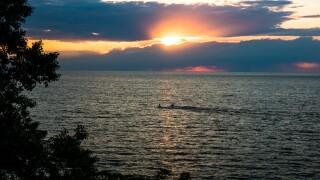 Photo of Lake Erie.