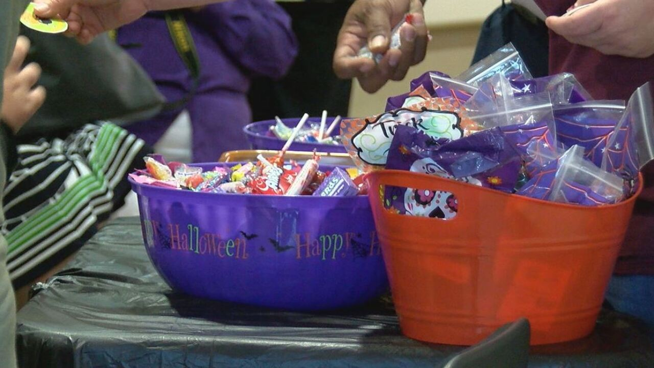 Sell leftover Halloween candy to send to troops overseas