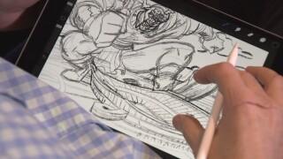 Titans Drawing
