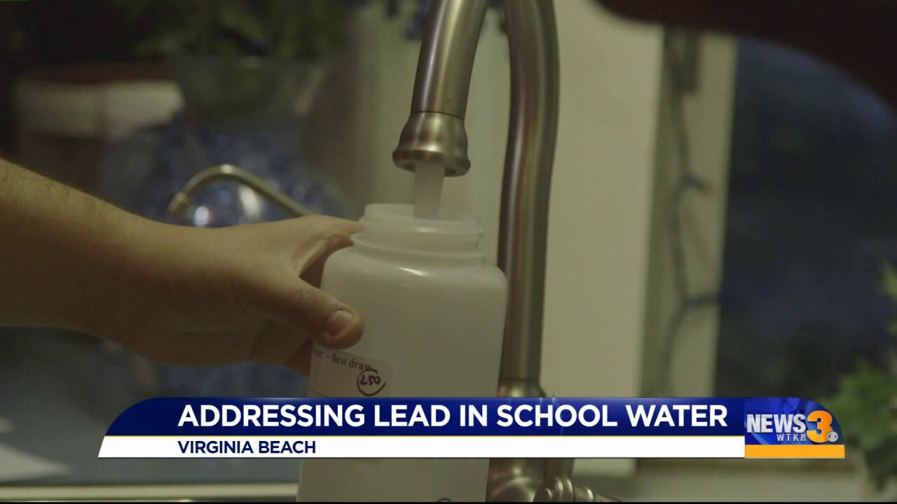 Rep. Luria, Virginia Beach school leaders vow to work together to address elevated levels of lead inwater