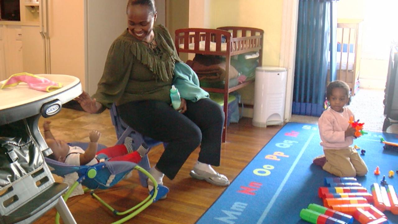 Refugee daycare