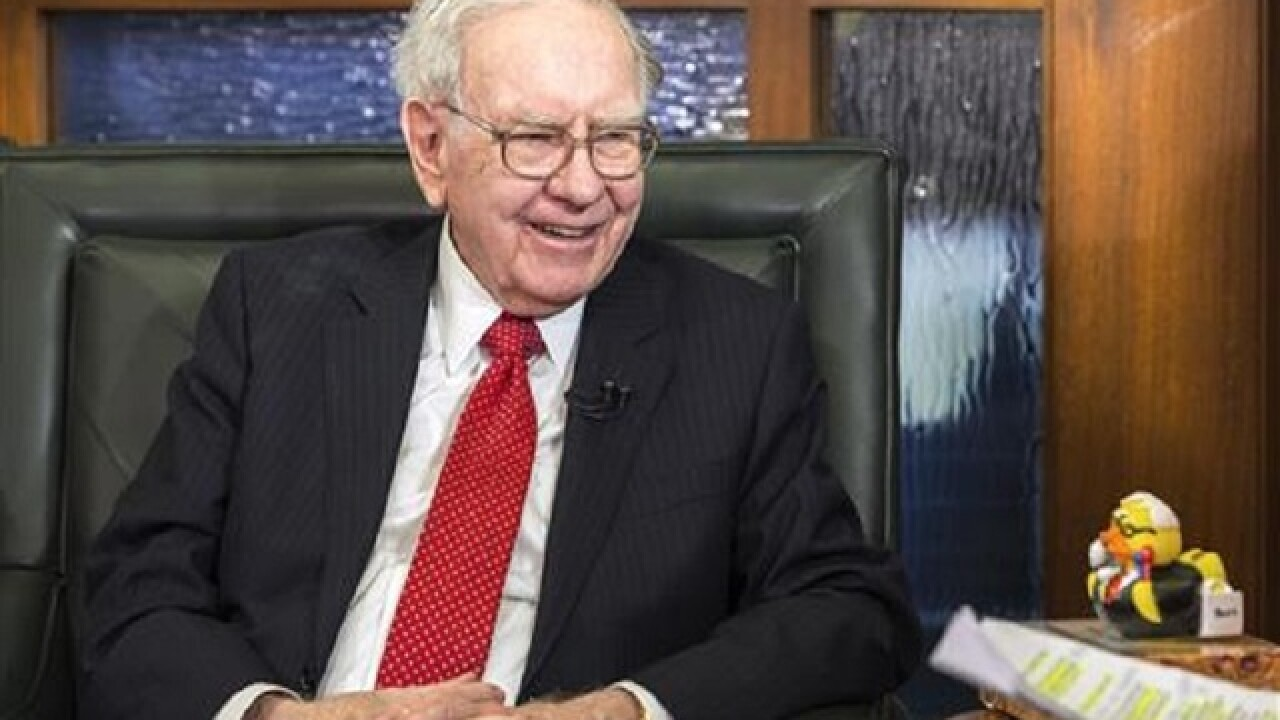 Auction of private meal with Warren Buffett expected to draw big bids
