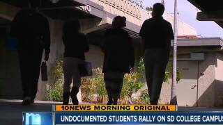 DACA Students plan rallies all week at San Diego Community Colleges