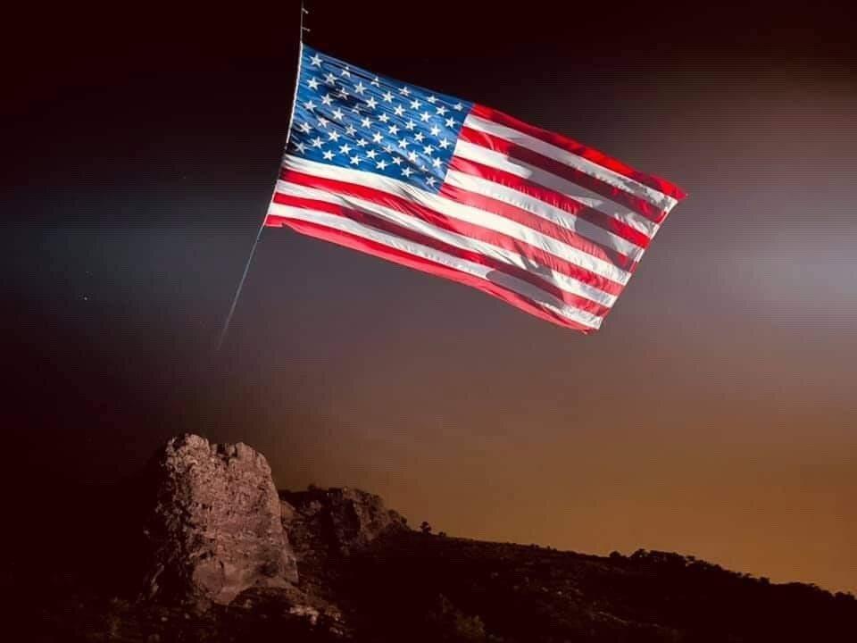 Rock Canyon flag