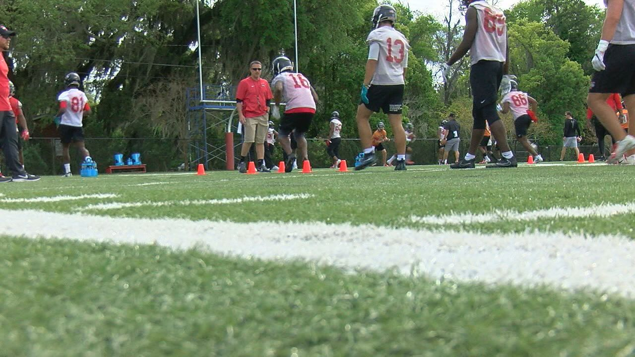 Valdosta State kicks off spring practice, ready to defend National Title