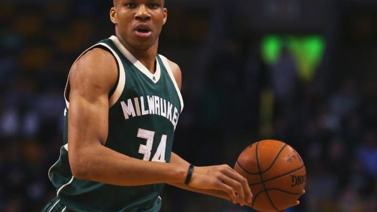 Forbes lists Giannis Antetokounmpo as one of the world's top paid athletes