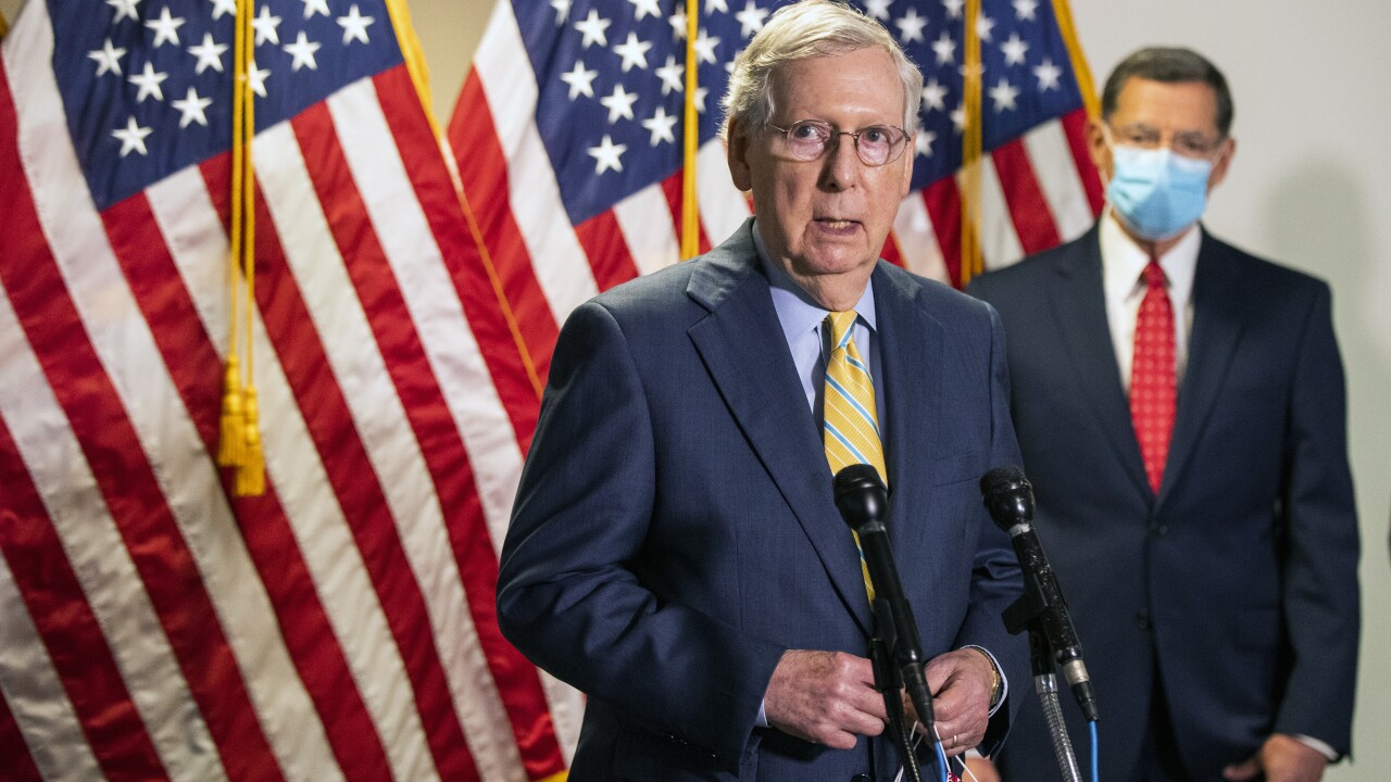 Majority Leader McConnell holds his Kentucky senate seat