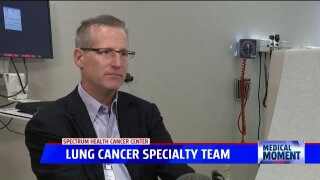 Medical Moment – Lung cancer specialty team with Spectrum Health