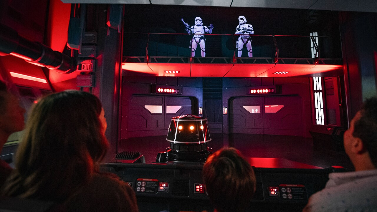 Star Wars' Rise of the Resistance, Disney's new ride, takes attraction to a whole new level