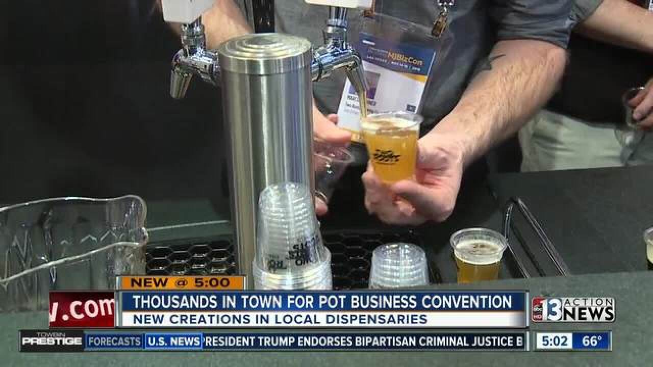 Marijuana Business Convention hits Las Vegas