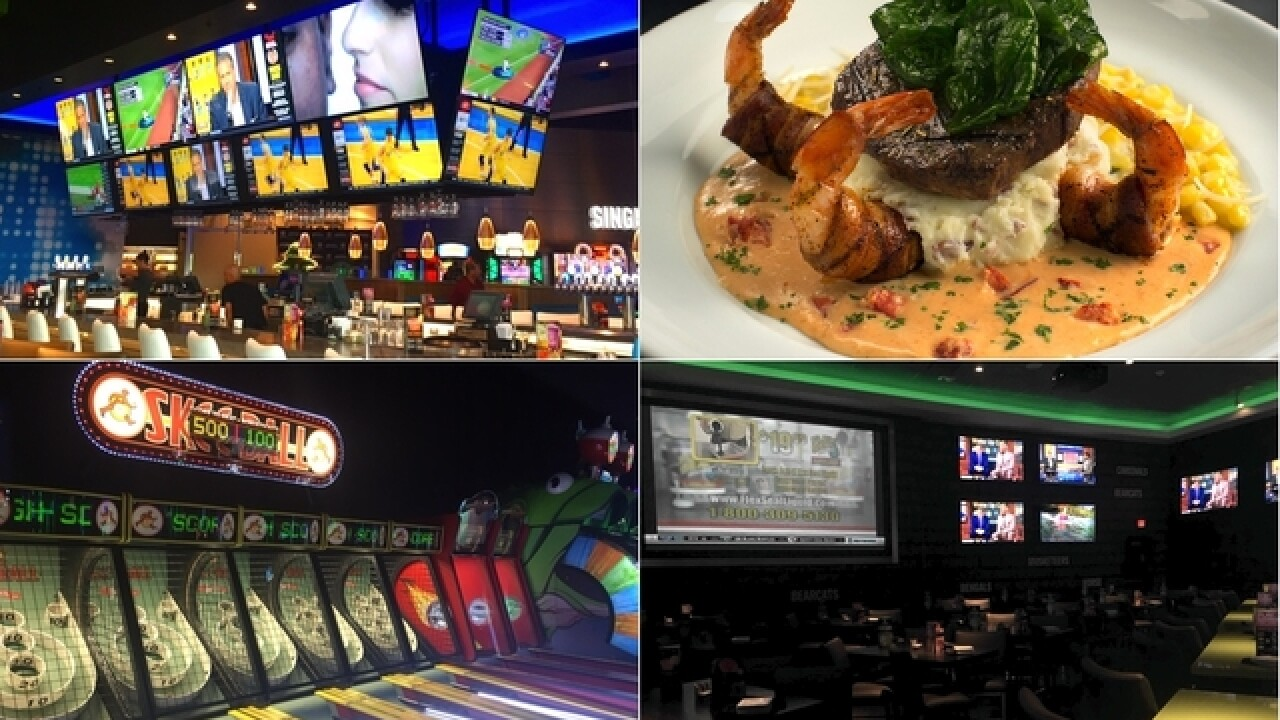 New Dave & Buster's Florence location offers games, sports bar and good eats