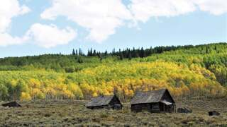 Crested Butte Old House Fall