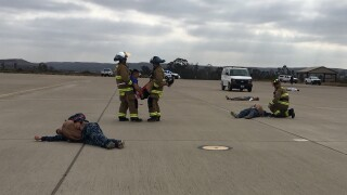 MCAS mass casualty exercise 2019