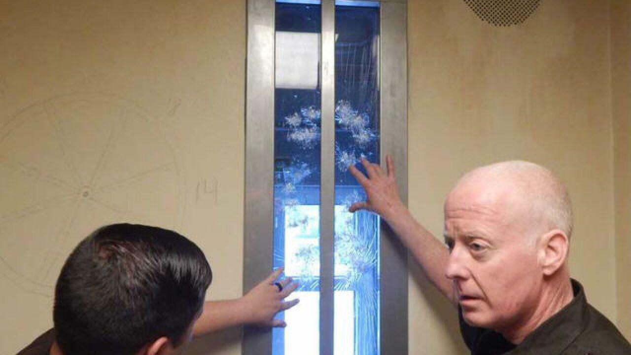 Bartholomew Co  inmate kicks out door, attacks guards