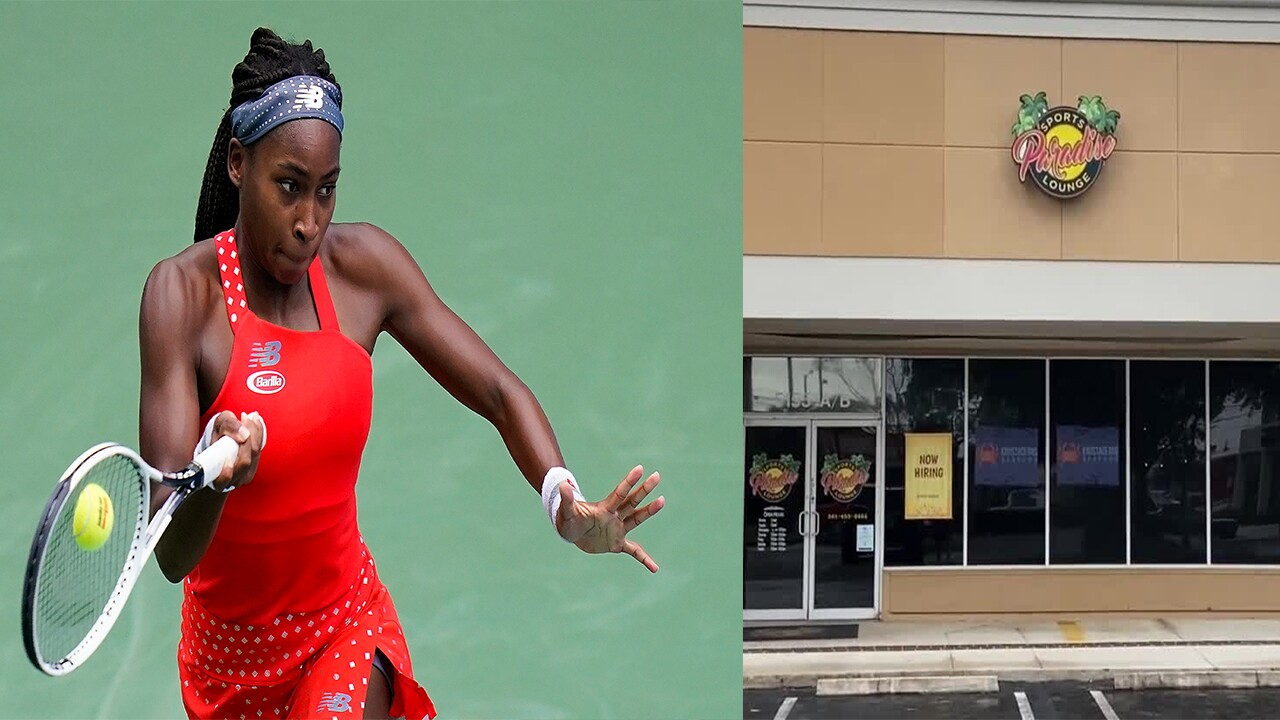 Coco Gauff and Paradise Sports Lounge