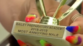 Indiana parents upset after son with autism given 'Most Annoying' trophy at school