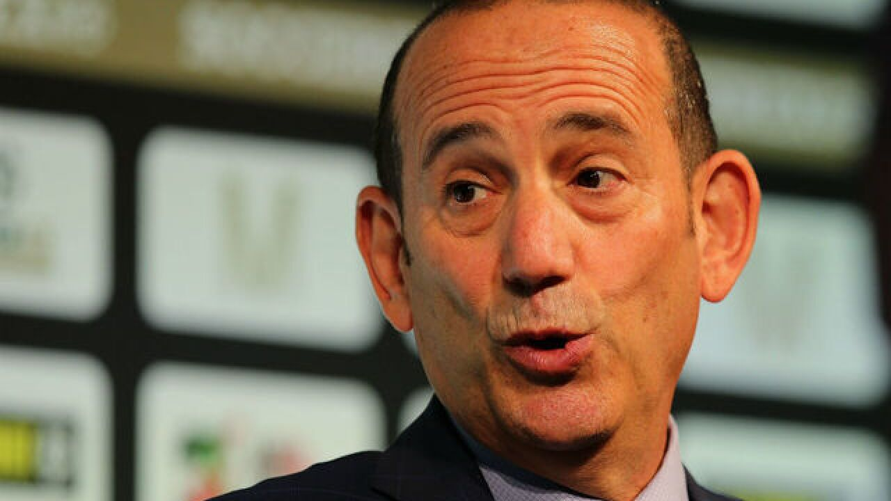 Is MLS commissioner easing soccer-specific stadium requirement?