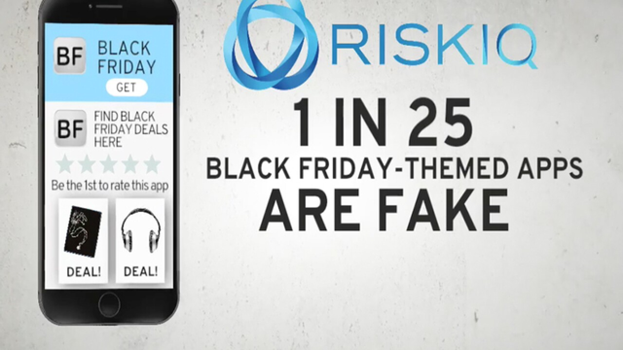 one in 25 black friday themed apps are fake cybersecurity company says