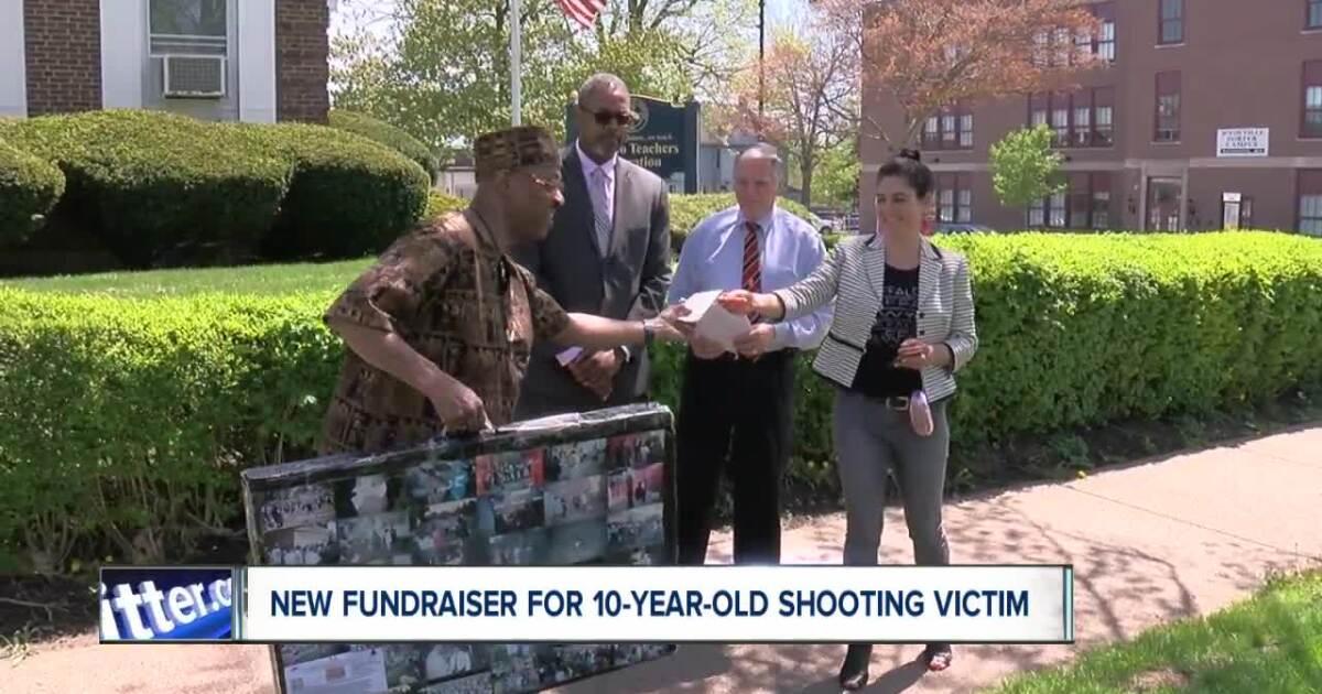 Community raising money for 10-year-old shooting victim