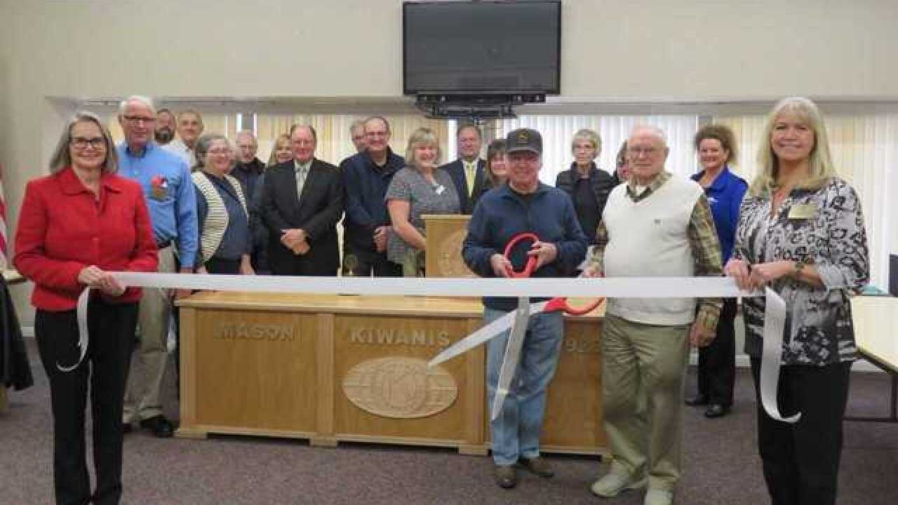 Ribbon cutting held for Kiwanis Village 40th anniversary in Mason