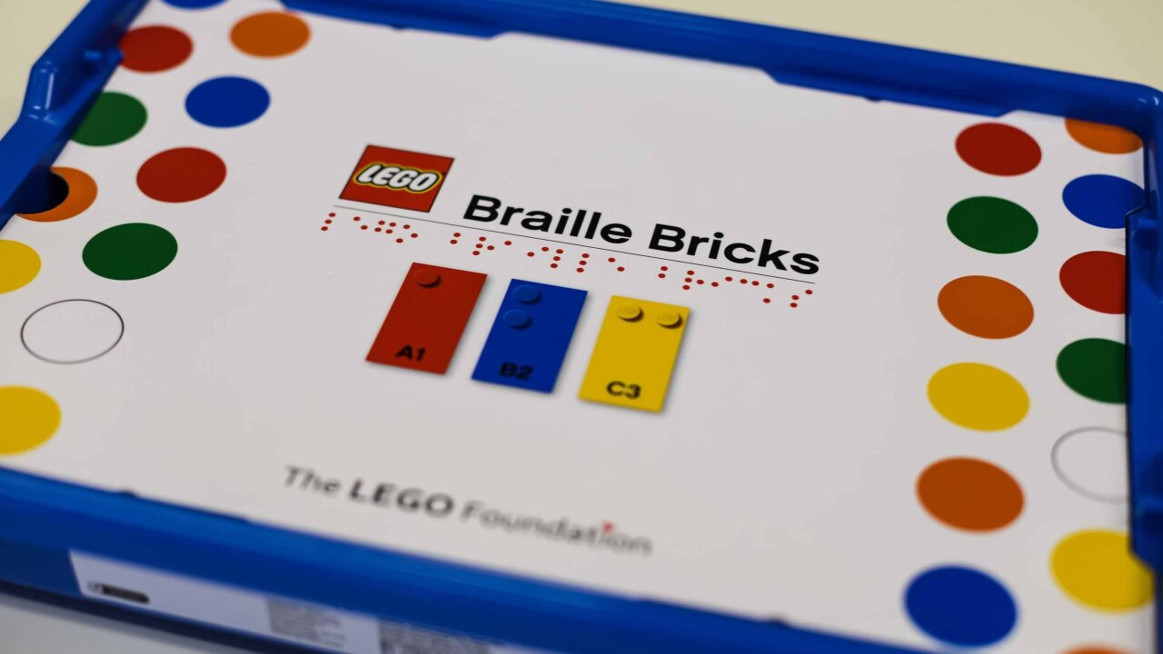 Lego releases Braille bricks to teach blind and visually impaired children