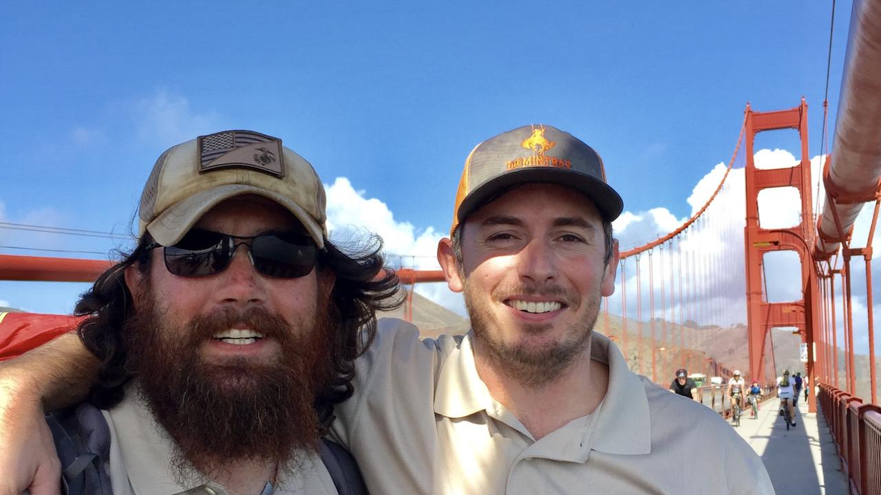 Baltimore Film Maker creates documentary on Marine Veteran's 5800 mile walk across the country