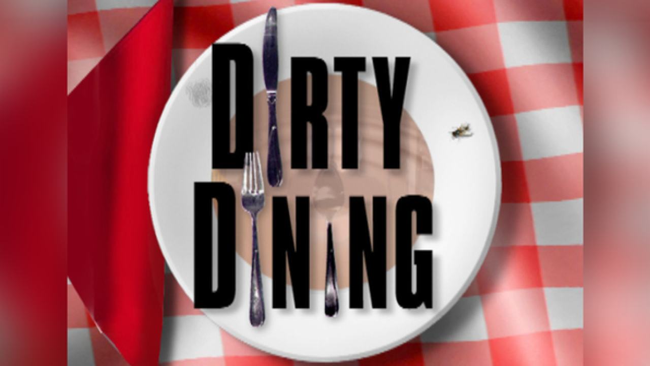 Dirty Dining: Dozens of schools fail inspections