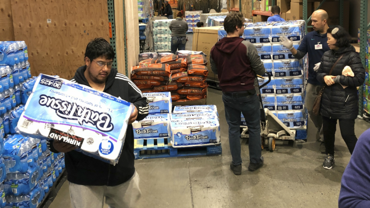 toilet paper hoarders