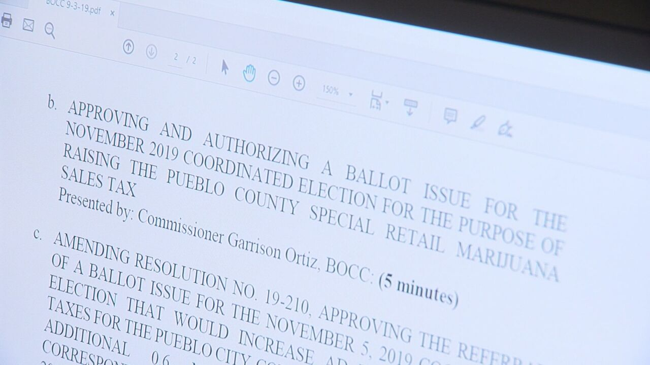 Pueblo public safety ballot question