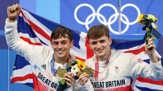 Tom Daley finds creative way to protect his first Olympic gold