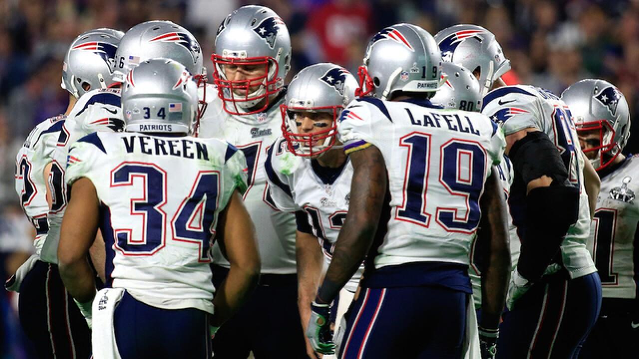 The best photos of Super Bowl XLIX