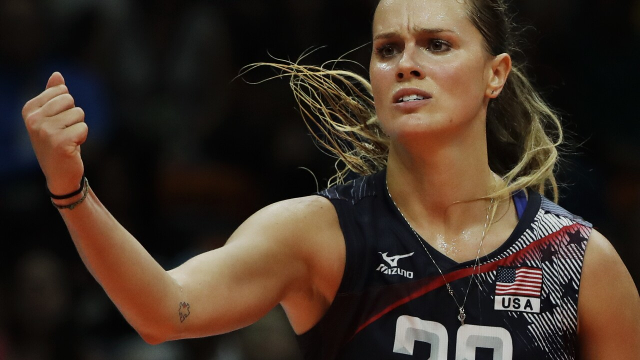 kelsey robinson team usa volleyball