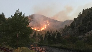 Seaman Fire in the lower Poudre Canyon now 100 percent contained