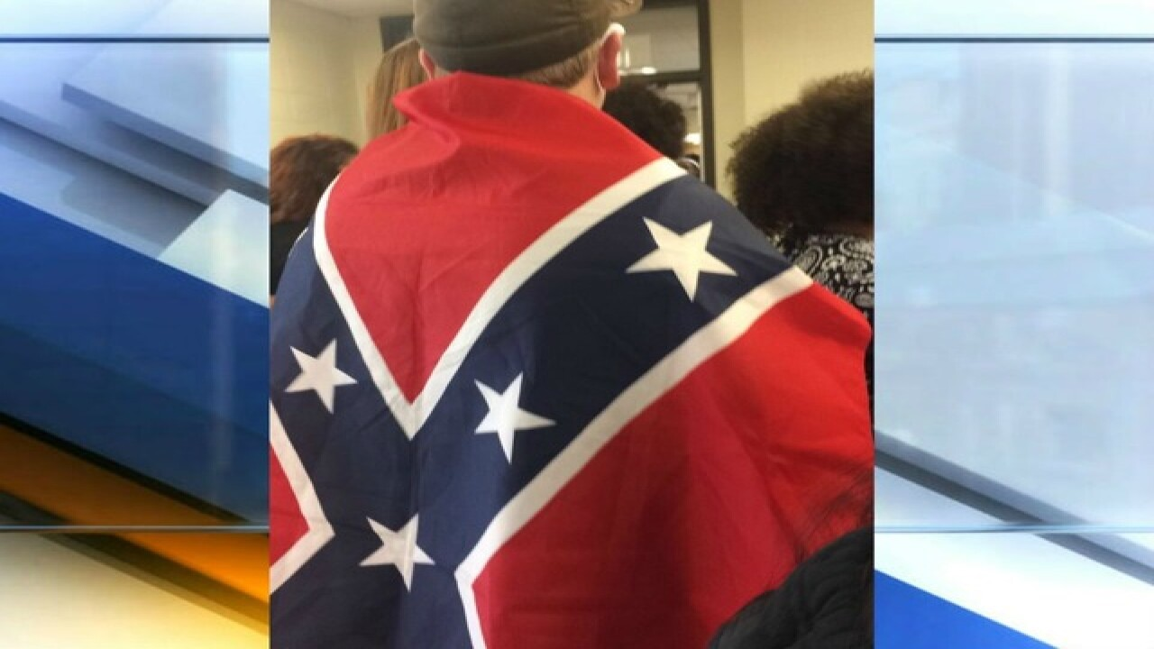 Confederate flags banned at Bloomington school
