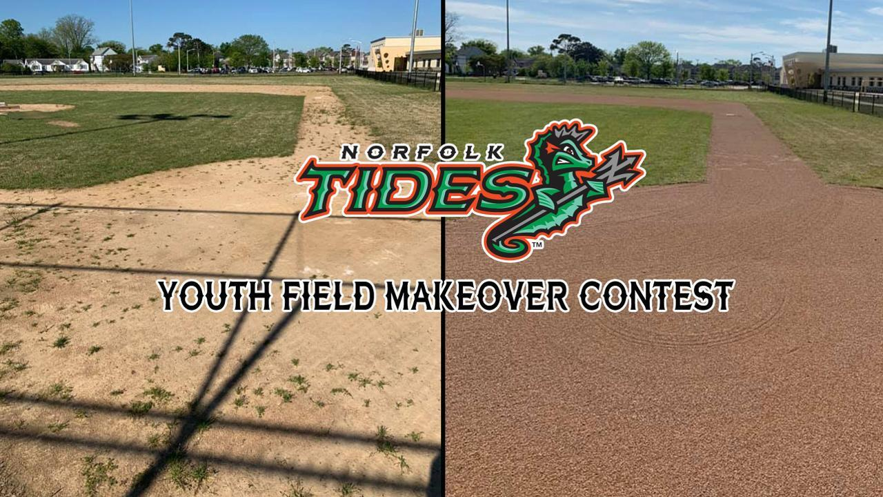 Norfolk Tides release finalist list for Youth Field Makeover Project