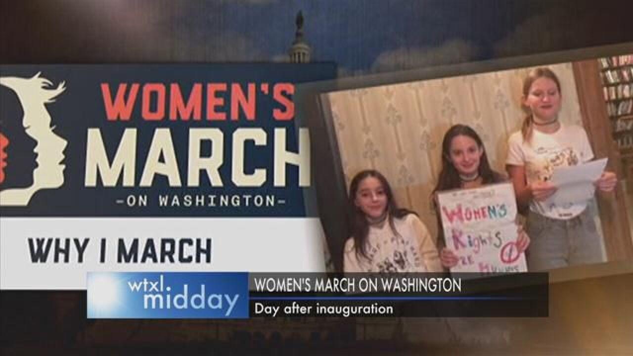 Women Around the Nation Prepare to March on Washington
