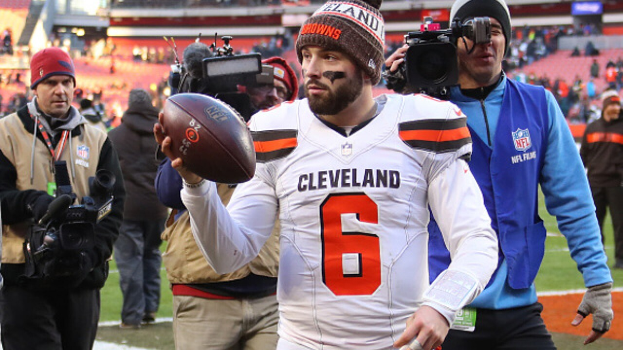 Baker Mayfield noticed the stands were not as full as they could have been on Sunday