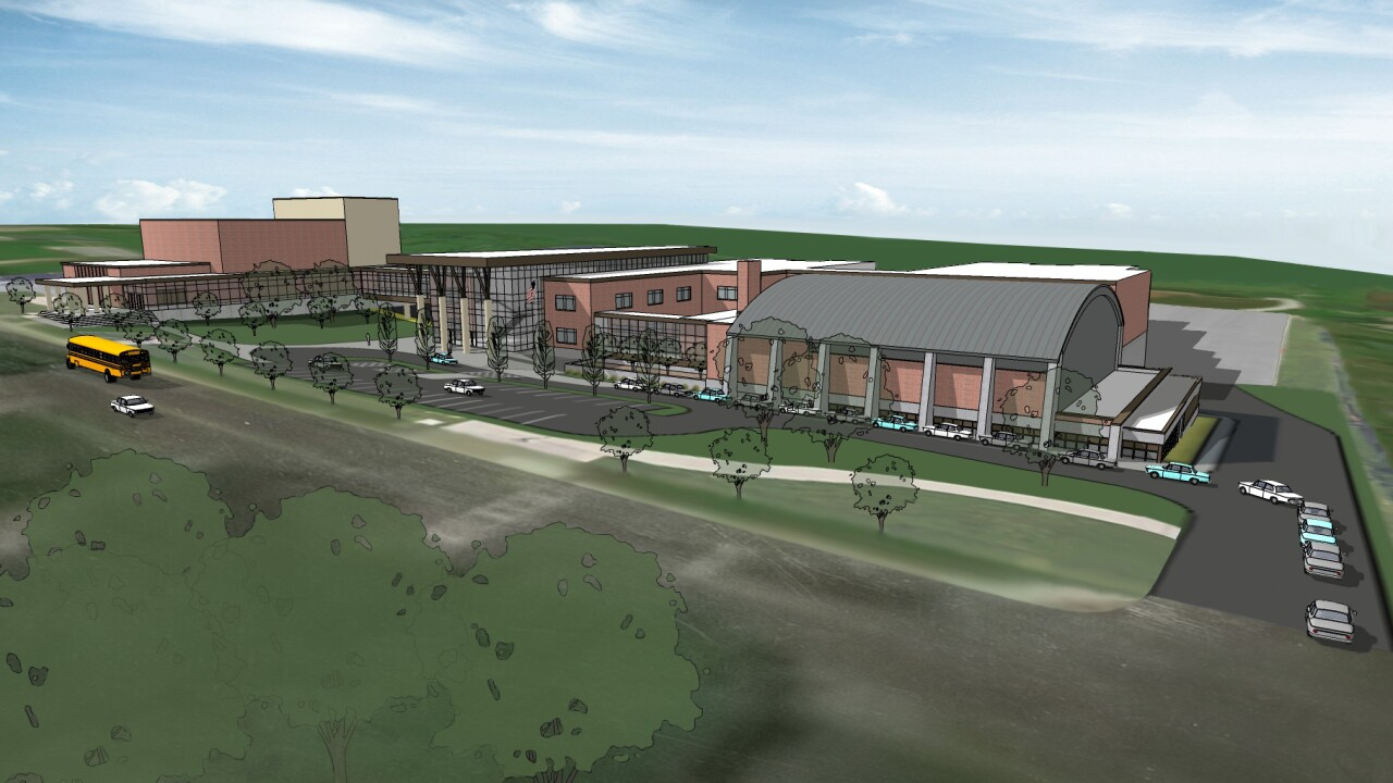 Turner Middle School Rendering